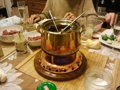 Meat fondue