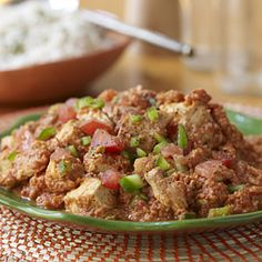 West African Peanut Chicken Recipe | MyRecipes.com