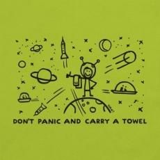 Don't Panic, Fictional Characters, Fantasy Characters