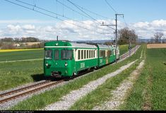 RailPictures.Net Photo: 14 MBC (Morges Bière Cossonay) Be 4/4 at Bussy-Chardonney, Switzerland by Georg Trüb