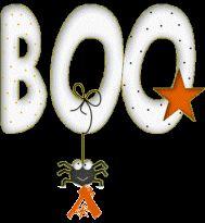 Alfabeto Animado para Halloween: Boo.