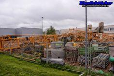 Blaulichtticker: Memmingen: Baustellenkran stürzt in der Woringer S...