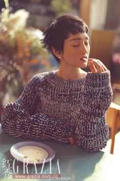 Zhou Xun poses for fashion magazine | China Entertainment News