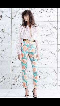 We don't match, and we love it. #SP2015 #FloralPant