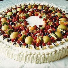 Authentic Italian Wedding Cake Recipe Italian Cream Cake Old