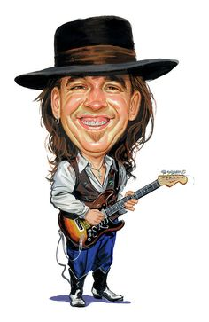 Shop for stevie ray vaughan artwork and designs from the world's greatest living artists. All stevie ray vaughan artwork ships within 48 hours and includes a money-back guarantee. Stevie Ray Vaughan, Funny Caricatures, Celebrity Caricatures, Celebrity Drawings, Heavy Metal, Caricature Drawing, Caricature Artist, Drawing Art, Blues Rock