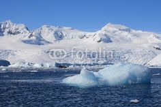 Antarctic landscape - Buy this stock photo and explore similar images at Adobe Stock Antarctica, Global Warming, Far Away, Ecology, Freeze, Wilderness, Frost, Reflection, Zodiac