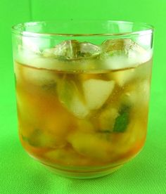 Whiskey Smash, basically a mojito with whiskey****Hmmmm....with jameson I'm sure!