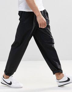 ASOS+Wide+Leg+Pleated+Balloon+Shape+Trouser+in+Black