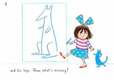 How to draw… blue kangaroo | Children's books | The Guardian Book Sites, You Draw, The Guardian, Kangaroo, Childrens Books, Lily, Kids Rugs, Drawings, Blue