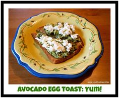 Love That Max: Special Needs Blog : Avocado egg toast: A healthy, yummy breakfast kids love
