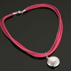 Pink and silver necklace. www.shazbamdecor.com. Lady, Bracelets, Silver, Pink, Collection, Jewelry, Bangles, Jewellery Making, Jewels