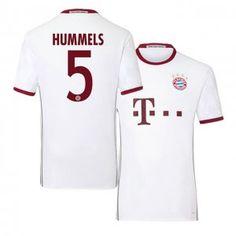 Bayern Munich Third 16-17 Season White #5 Hummels Soccer Jersey [I492]
