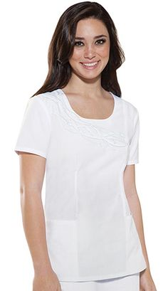 0859bd68eaf Baby Phat Women Embroidered Round Neck Nurses Scrub Top Item #: CH-26747  view details