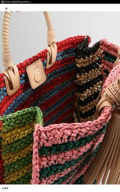 Crochet Tote, Crochet Handbags, Crochet Purses, Knit Crochet, Chunky Crochet, Love Crochet, Handmade Handbags, Handmade Bags, Diy Bags Purses
