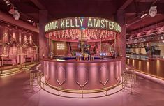 If you don't like pink – the so-called Millennial Pink or any other hue of it – or if you don't like chicken or lobster, then MaMa Kelly restaurant may not be your first choice in Amsterdam. But, then again, you may choose to behave like the co-owner and designer of the place, Rein Rambaldo, and …