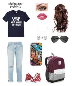 """Opinionater"" by auburngirl2001 ❤ liked on Polyvore featuring Current/Elliott, Converse, Victoria's Secret, Lime Crime, Jewelonfire and Yves Saint Laurent"