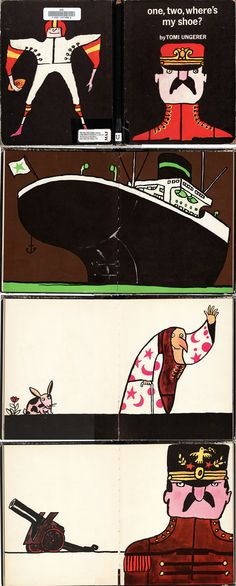 One, Two, Where's My Shoe illustrated by Tomi Ungerer
