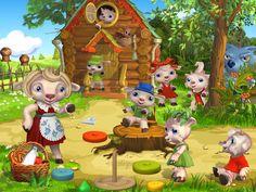 Conte, Illustrations, Preschool, Christmas Ornaments, Holiday Decor, Children, Kor, Home Decor, Animals