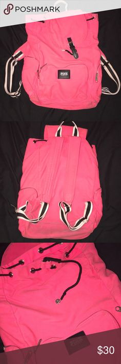 VS Pink backpack VS pink backpack used a couple times needs to be cleaned PINK Victoria's Secret Bags Backpacks