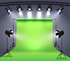 Spotlights realistic composition with photo shooting studio environment chroma key cyclorama surrounded by professional spot lights vector illustration Powerpoint Background Design, Dslr Background Images, Photo Backgrounds, Black Photo Frames, Vintage Photo Frames, Picture Frames, Chroma Key, Wedding Card With Photo, Photo Frame Layout