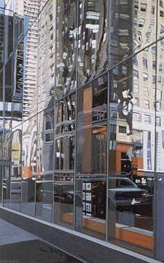 Richard Estes: XXVI. Oil on canvas.