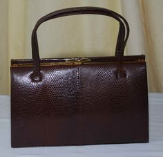 Vintage Handbag by Fassbender of London by Deliasvintage on Etsy, £89.00