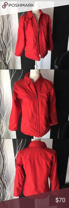 Patagonia women's red zipped up jacket Sz XS Pre owned women's red zipped up jacket Sz XS in excellent condition. No rips, tears or odors. Please refer to pics for true detail description of the condition and please message me if you have any questions thank you and happy shopping! Patagonia Jackets & Coats