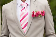 Awesome alternative to a boutonniere >> the floral pocket square! Bumby Photography | see more: http://bridalmusings.com/2013/09/whimsical-garden-wedding-inspiration-shoot/