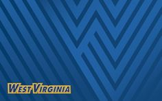 West Virginia Blue Wallpaper