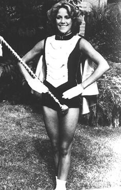 And Sheryl Crow was a majorette! (Work that baton, girl)--via the Daily Beast