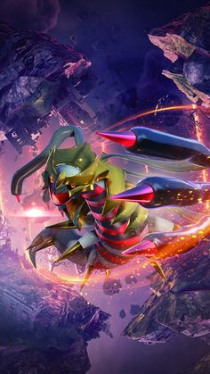 Giratina Pokemon, Solgaleo Pokemon, Dragon Type Pokemon, Pokemon Poster, Ghost Pokemon, Pokemon Fusion Art, Pokemon Manga, Pokemon Pokedex, Pokemon Fan Art