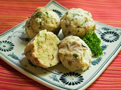 Semmel Knödel; German Bread Dumplings. my absolute favorite thing to eat during the holidays with the family!