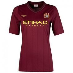 Manchester City Mujer 2012/13 Away Camiseta fútbol [390] - €16.87 : Camisetas de futbol baratas online!