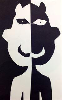 Artsonia Art Gallery - Positive & Negative Faces