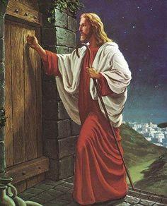 jeesus kutsuu sydämesi ovella.(koputtaa) avaa sydämesi ovi.