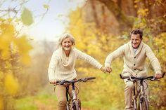 seniors à vélo