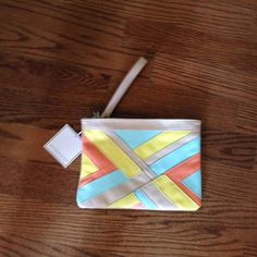 Shiraleah Chicago Carlin wristlet. Color almond Shiraleah Chicago Carlin wristlet. Color almond. NWT shiraleah Bags Clutches & Wristlets