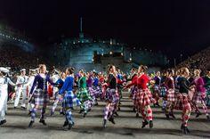 The 2014 Edinburgh Tattoo Highland Dancers.