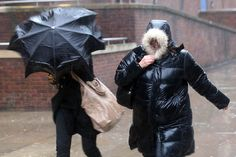 Strong winds, torrential downpours and arctic gales are forecast for the beginning of December Uk Weather, Severe Weather, Flood Warning, Huge Waves, Weather Warnings, Wind And Rain, Strong Wind, Winter Storm, Rainy Days