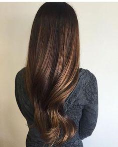 Image result for subtle blonde balayage for brunette