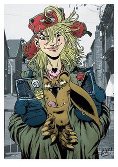 Tankgirl & Booga - Rufus Dayglo