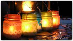 miycreations.com, green-craft-recycle-jars, green crafts, miy