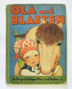 """1933 First Edition """"Ola And Blakken"""" Hardcover Childrens Book By Ingri & Edgar Parin d'Aulaire Gorgeous Illustrations Rare by parkledge on Etsy"""