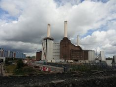 Battersea Power Station is being turned into a block of flats, I mean apartments! Expensive ones!