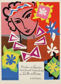 Find the latest shows, biography, and artworks for sale by Henri Matisse. Henri Matisse was a leading figure of Fauvism and, along with Pablo Picasso, one of… American Art, Abstract Artists, Artist, Henri Matisse, Exhibition Poster, Matisse Cutouts, Picasso, Abstract, Prints