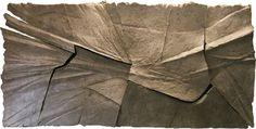Miejsca znaczone |  sculpture paper pulp