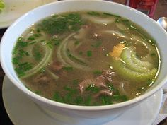 Pho Bo - Vietnamese beef soup