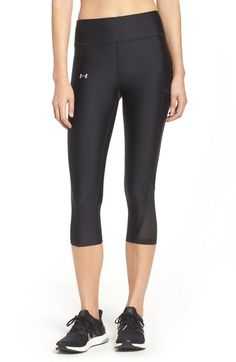 b27b12ec51f Under Armour  Fly By  Colorblock Capris available at  Nordstrom Womens  Workout Outfits