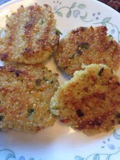 Life in my Kitchen...and beyond: #1,601: Quinoa Patties
